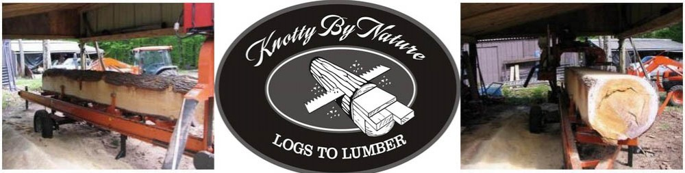 Knotty By Nature: Logs To Lumber